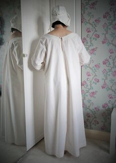 7eacd266dc Medium Medieval Ladies white chemise. White by PastTymeTailoring on  ETSY.com Ladies White