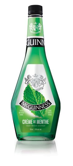 With its cool mint aromas and flavours, McGuinness® Crème de Menthe Green is both delicious and refreshing. Browse our liqueurs and drink recipes. Cocktail Recipes, Cocktails, Holiday Drinks, Creme, Alcohol, Make It Yourself, Bottle, Liqueurs, How To Make