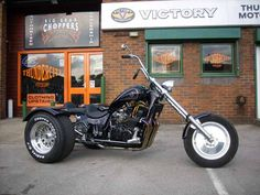 Yamaha XS1100 Trike, read more at http://thundercity.co.uk/project-bikes/custom-project-bikes/51/xs-1100-yamtrike.html