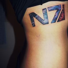 Ooh, perfect placement for this N7 tat