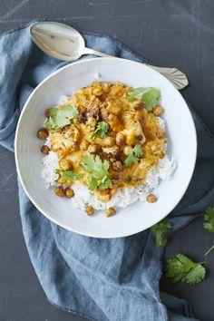Vegetarian Recipes Dinner, Dinner Recipes, Healthy Recipes, Healthy Dinners, Healthy Food, Make Ahead Meals, Aioli, Garam Masala, Ricotta