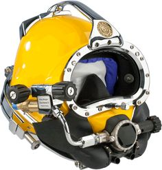 The Kirby Morgan® 57 Commercial Diving Helmet with Male Waterproof Connectors continues the tradition of innovation by providing the highest quality and superior performance that commercial divers have come to expect in a Kirby Morgan product.  http://www.amronintl.com/kirby-morgan-57-commercial-diving-helmet.html