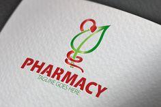 Pharmacy Logo by Samedia Co. on Creative Market