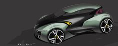Renault EV project_2011 by Kyusik Moon, via Behance