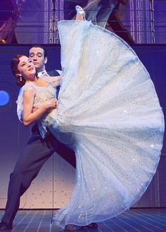 Anything Goes -- Laura Osnes and Colin Donnell <- love the skirt! and