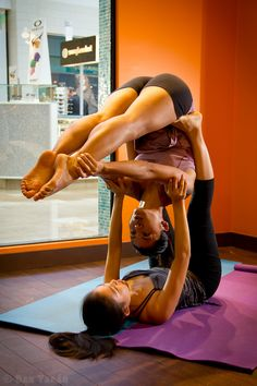 "500px / Photo ""Acro Yoga Sisters"" by Dan Tabár  More inspiration at: http://www.valenciamindfulnessretreat.org"