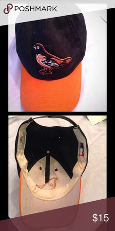 baltimore orioles hat baltimore orioles orange and black hat baltimore orioles Accessories Hats