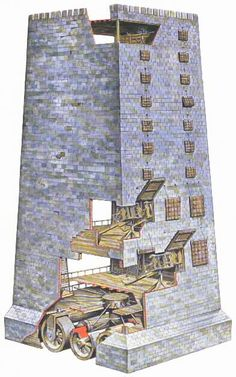ancient war machine tower - Google Search