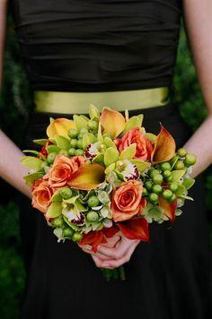 Bridesmaid bouquet « Bollea – Floral Design Gallery