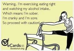 This will be me for the next several weeks... Consider yourselves warned!