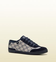 Gucci - 'barcelona' lace-up trainer.