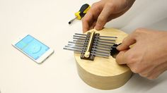 Make a Kalimba (thumb piano) - with steam bending instructions