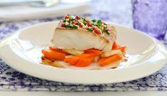 En smakfull middag trenger ikke ta så lang tid å lage. Denne oppskriften passer godt når du vil imponere gjester. Kanskje passer den i en tre-retters middag? New Menu, Seafood Recipes, Ethnic Recipes, Seafood Rice Recipe
