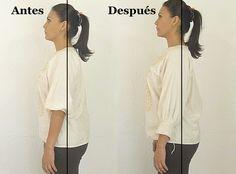 Cómo enderezar la espalda en 7 minutos (¡sí funciona!)