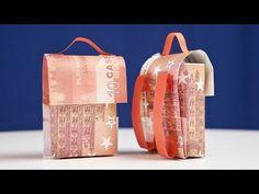 TASCHE falten, originelle Geldgeschenk IDEE - YouTube