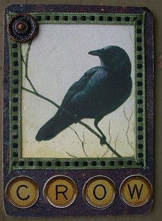 This is a Wonderful little piece of Corvidae Art! by Bellesouth's Art Four And Twenty Blackbirds, Counting Crows, Crow Bird, Raven Art, Jackdaw, Crows Ravens, Animal Totems, Bird Art, Bird Feathers