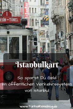 Mit der Istanbulkart sparst du Geld in den öffentlichen Verkehrsmitteln von Istanbul. Eine Einzelfahrt kostet mit ihr bis zu 40% weniger. Woher du sie bekommst und wie sie funktioniert erfährst du hier: http://www.tuerkeireiseblog.de/istanbulkart/