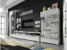 Akce - Obývací stěna Lejla Flat Screen, Blood Plasma, Flatscreen, Dish Display