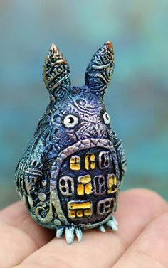 Christmas Dragons and Fantasy Animals Miniatures by Evgeny Hontor. 800+ Painted and unpainted totem polymer clay figurines for Home decor, aquarium decor and collecting. Fantasy creatures, fairy beasts and cute aliens in my new collection