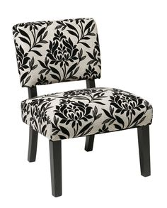 Office Star Jasmine Accent Chair in Paradise [JAS-P3]
