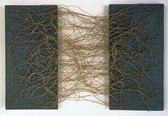 "Eva Hesse, 1966 ""Metronomic Irregularity"" Brooklyn Museum."