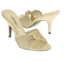 slip-on wedding Sandals | Slip on Wedding Shoes