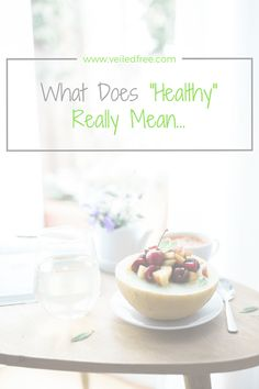 Are you considered a healthy person?  Find out: www.veiledfree.com