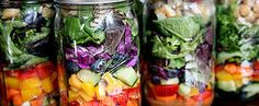 How to Pack Salads on Sunday Night So They're Fresh All Week