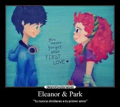 Eleanor Park They look way too young, but omg so cute! Any Book, Love Book, Eleanor Y Park, All The Bright Places, Rainbow Rowell, Fandoms, Cool Books, Book Projects, Book Nerd