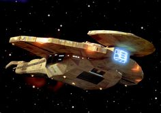 Cardassian Battle Cruiser, Galor Class - Star Trek DS9.