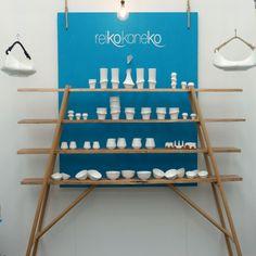 Reiko Kaneko's white ceramics