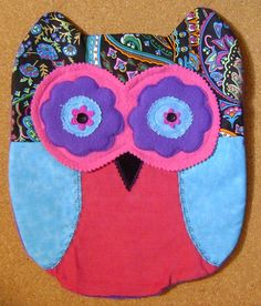 UNIQUE Handmade  Soft and Cuddly Owl by kalenescustomgifts on Etsy, $23.00
