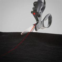 ThinkGeek :: Laser Guided Scissors