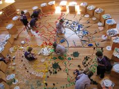 Sorting.... ART as science, dynamic, as well as live performance