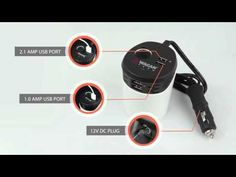 Wagan Tech Travel Charge PowerCup 6.2 (#2886) - YouTube