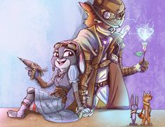 Steampunk-Zootopia by DOL2006