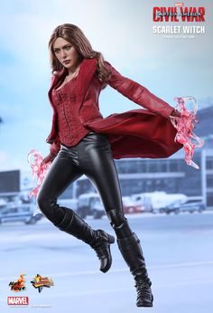 Hot Toys : Captain America: Civil War - Scarlet Witch 1/6th scale Collectible Figure