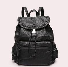 Ladies Backpack Choice Of 5 Colors With Soft Sheepskin Genuine Leather Shoulder Bag (20-35 Litre) Model# L-ZB01