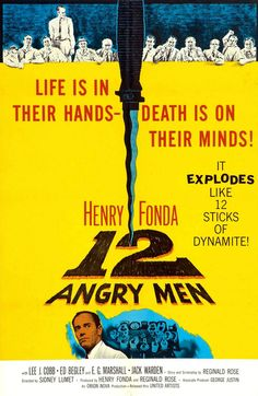 12 Angry Men (1957) movie at the Boston Harbor Hotel June 21st.