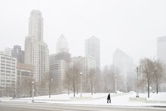 Looking forward to some neat photography opportunities.    Chicago winter Photograph  - Chicago winter Fine Art Print