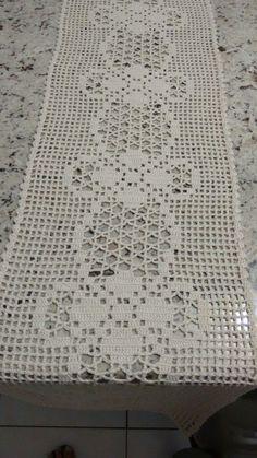 Crochet Lace Edging, Crochet Chart, Filet Crochet, Crochet Doilies, Crochet Stitches, Crochet Patterns, Crochet Table Runner, Crochet Tablecloth, Cross Stitch Books