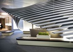 Georg Jensen's Baselworld installation designed by Zaha Hadid