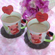 CUP OF LOVE: THREE V-DAY SWEETLY DIY TREATS