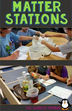 The Science Penguin: BIG Science Stations Units: Physical Science Fourth Grade Science, Elementary Science, Science Education, Teaching Science, Science For Kids, Science Ideas, Science Classroom, Earth Science, Mad Science