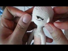 Mesmerizing Crochet an Amigurumi Rabbit Ideas. Lovely Crochet an Amigurumi Rabbit Ideas. Crochet Doll Clothes, Knitted Dolls, Crochet Dolls, Crochet Eyes, Cute Crochet, Crochet Baby, Diy Embroidery Machine, Embroidery Leaf, Amigurumi Doll