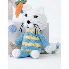 Baby's Kitty and Mouse | YarnInspirations | Free Pattern