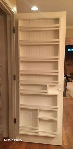 New Kitchen Pantry Ideas – Home Renovation Home Diy, Kitchen Pantry, Storage, Diy Kitchen Renovation, Diy Kitchen Storage, Kitchen Organization, Kitchen Pantry Design, Diy Closet, Kitchen Diy Makeover