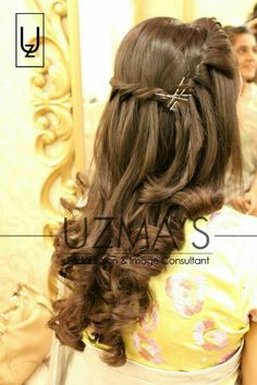 Open Hairstyles, Bun Hairstyles For Long Hair, Braided Hairstyles For Wedding, Bride Hairstyles, Hairdos, Quince Hairstyles, Hairstyle Images, Gorgeous Hairstyles, Party Hairstyles