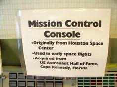 Mission Control Console