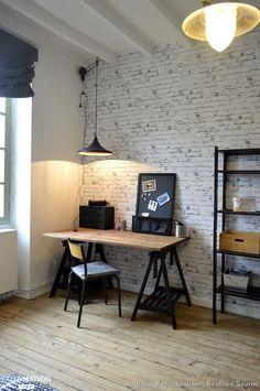 Rénovation et décoration d'une chambre d'adolescent, Béatrice Saurin - Côté Maison #DécorationAFaireSoiMeme